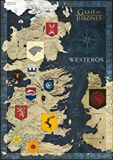 Buffalo Games - Game of Thrones - Map of Westeros - 500 Piece Jigsaw Puzzle