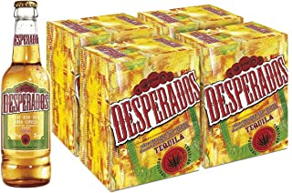 Desperados Cerveza - 4 Packs de 6 Botellas x 250 ml - Total