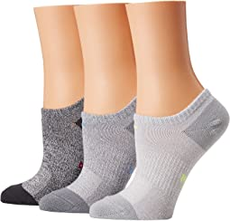 Performance Lightweight Mesh No Show Training Socks 6-Pair Pack