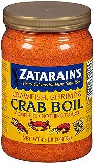 Zatarains Pre-Seasoned Crab and Shrimp Boil 72 Ounce (Pack of 2)