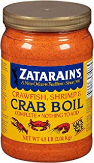 Zatarains Pre-Seasoned Crab and Shrimp Boil 72 Ounce (Pack of 2)