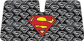Infinity Stock DC Comics Superman Front Auto Windshield Sun Shade Universal Size Fit 58 x 27 - Windshield Car Truck SUV & Van Sunshade - Interior Accessories (Superman Red Shield)