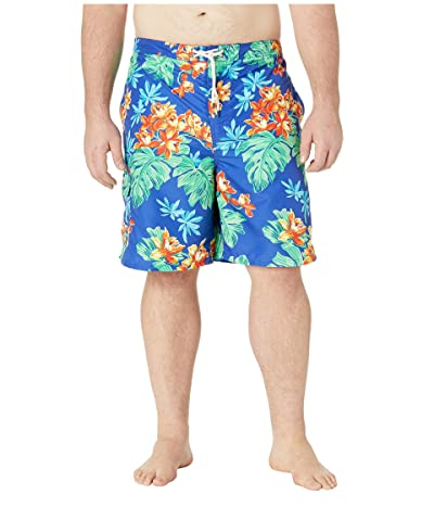 Polo Ralph Lauren Big & Tall Big Tall Printed Swim Trunks (Tropical) Men