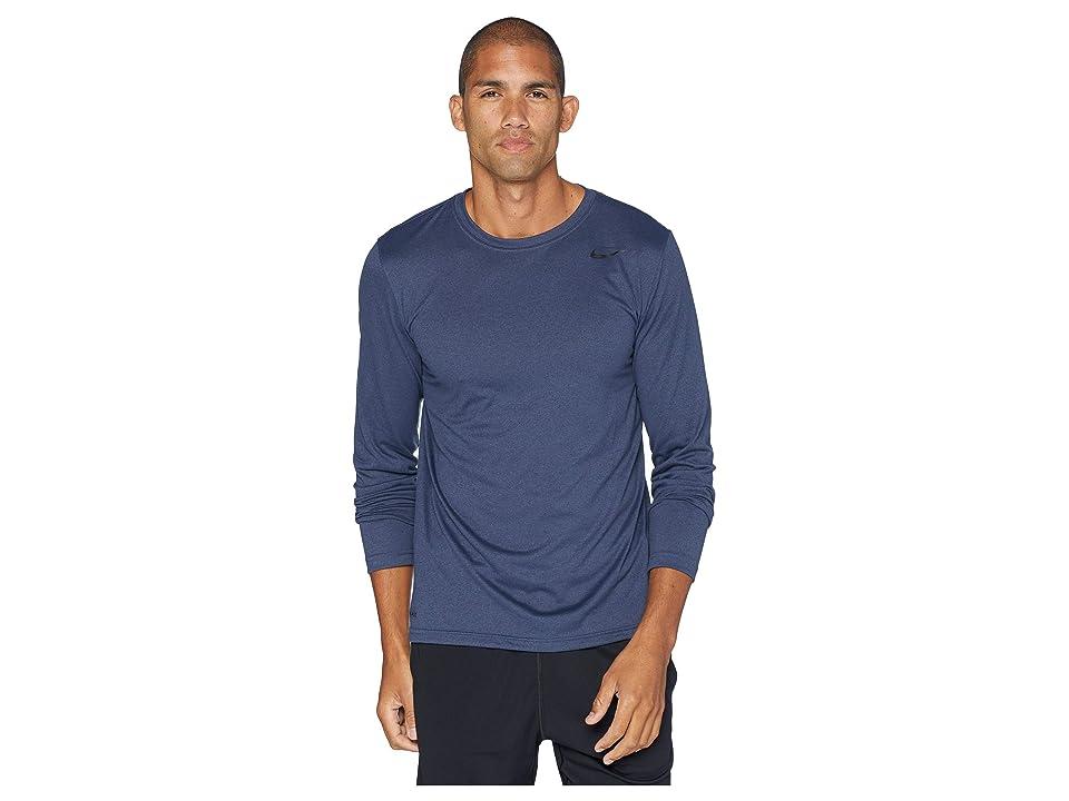 Nike Legend 2.0 Long Sleeve Tee (Thunder Blue/Black) Men