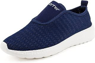 recorrer InLite Men's Slip-On Navy Casual Sneaker Shoes
