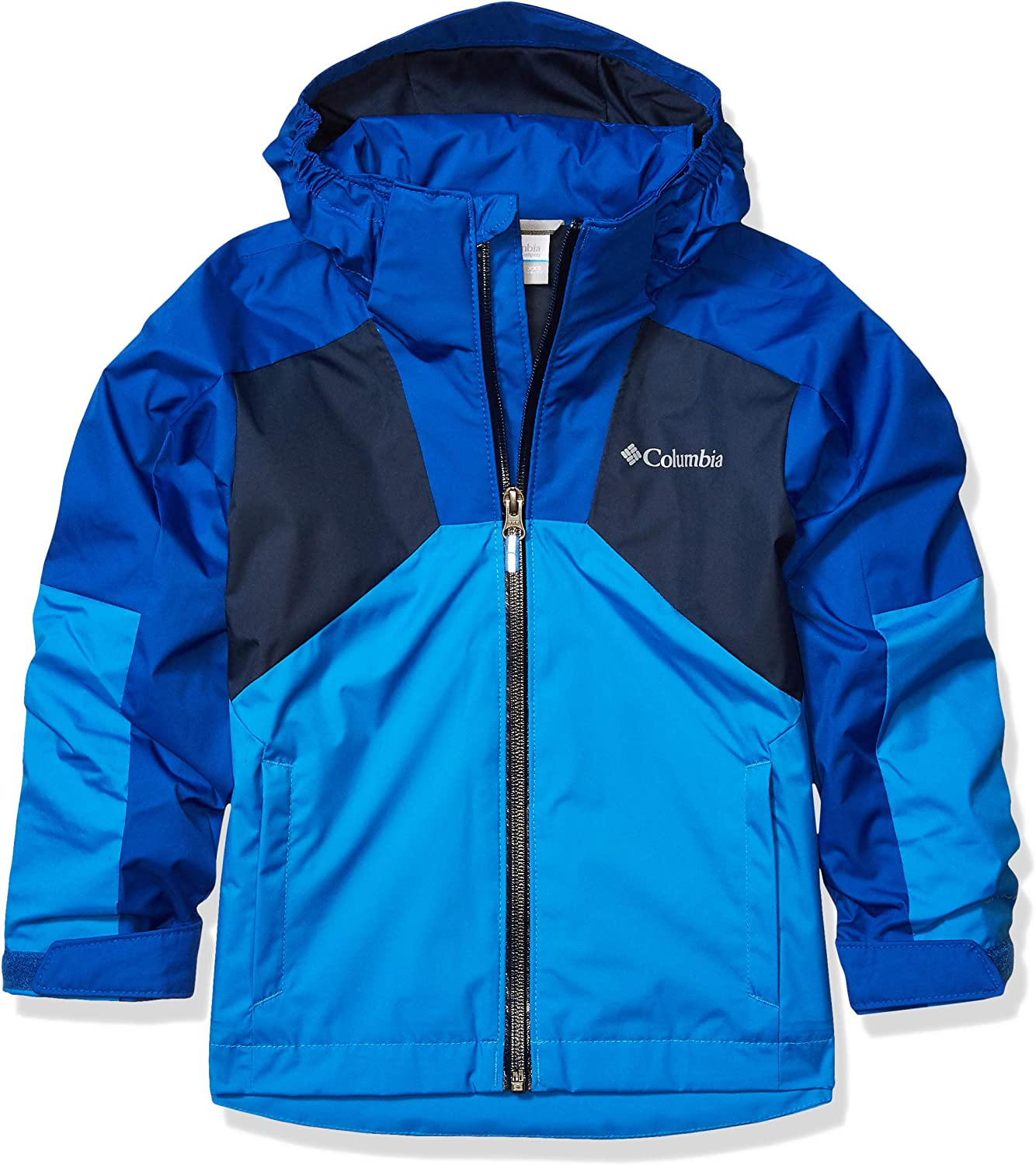 Columbia Girls Youth Boy's Rain Scape Jacket, Waterproof & Breathable, Extended Fit