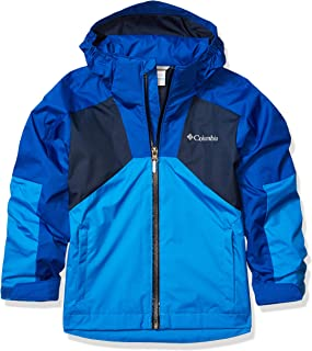 Columbia Youth Boy's Youth Boy's Rain Scape Jacket, Waterproof & Breathable, Extended Fit
