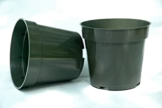 Plastic Pots for Plants, Cuttings, & Seedlings 4 Inch Standard Size 20 Pack