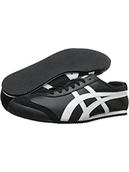onitsuka tiger mexico 66 slip on black and white label juice
