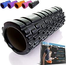 FIT NATION Fasciarol - Foam Roller Set voor zelfmassage met oefenboek - Sport massagerol voor beginners, professionals, da...