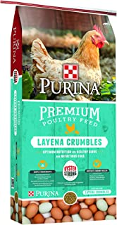 Purina Layena Premium Layer Feed Crumbles, 25 lb Bag
