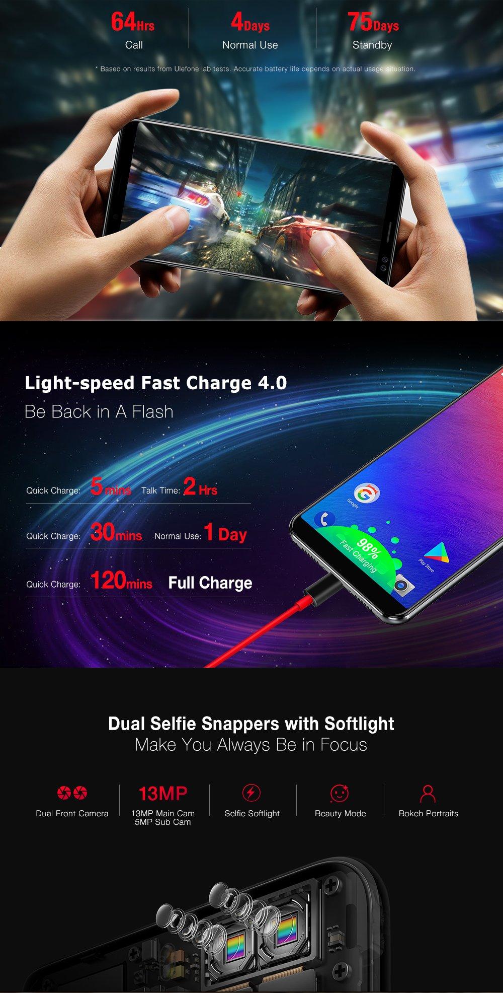 Ulefone Power 3s - 6.0 Pulgadas FHD (relación 18: 9) Corning ...