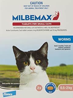 Milbemax All-Wormer Tablet for Small Cat