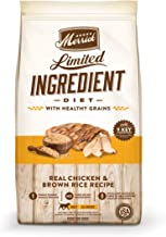 product image for Merrick Limited Ingredient Diet Dry Dog Food Real Chicken & Brown Rice Recipe with Healthy Grains - 22.0 lb Bag