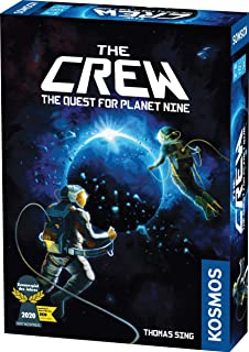 Thames & Kosmos 691868 The Crew The Quest for Planet Nine Strategy Game