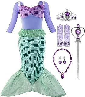 rainbow mermaid costume