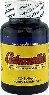 Woohoo Natural Astaxanthin 5 mg + Salmon Oil 500mg 120 Capsules