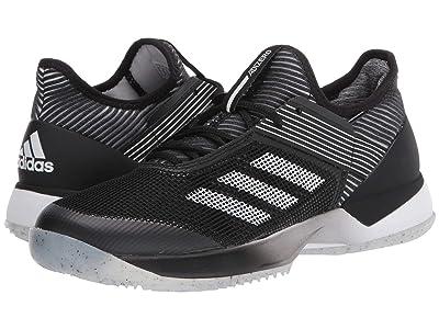 adidas Adizero Ubersonic 3 Clay (Core Black/Footwear White/Core Black) Women