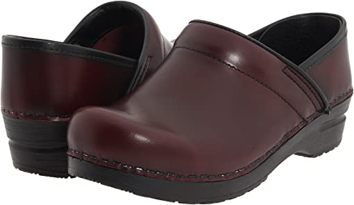 Bordeaux Brush Off Leather