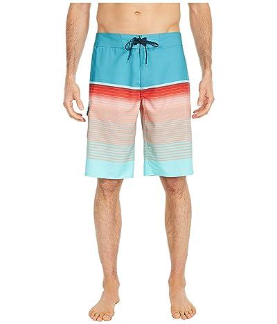 Billabong All Day Stripe Pro 21 Boardshort (Teal) Men