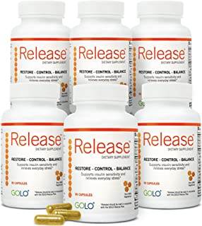 GOLO Release Diet Supplement - Natural Plant-Based Nutraceutical - Balance Hormones, Increase Metabolic Efficiency - No Caffeine, No Stimulants, Vegetarian Safe - 180 Day Supply - 540 Capsules