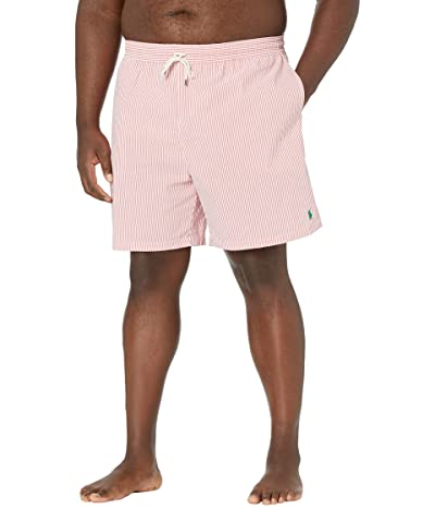 Polo Ralph Lauren Big & Tall Big Tall Traveler Seersucker Swim Trunks Men