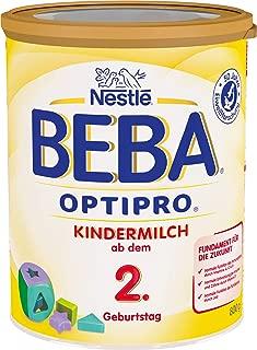 德国雀巢BEBA OPTIPRO成长2+段婴幼儿奶粉2岁以上 800g