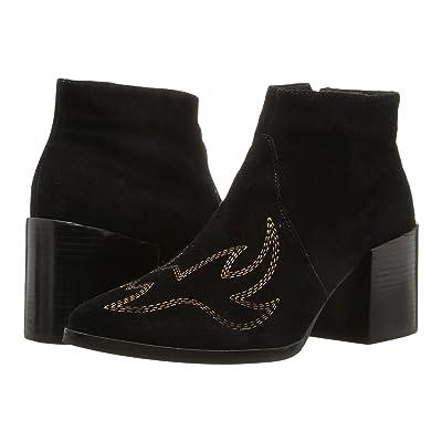 Matisse Vox (Black Leather Suede) Women