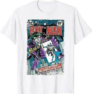 Homme US DC Batman Cover 251 Joker T-Shirt