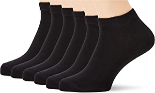 Amazon Brand – Hikaro Men's Trainer Liners/Socks, Pack of 12 (formerly MyWay brand)