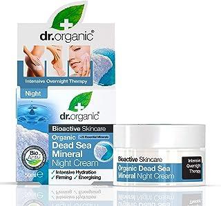 Dr Organic Sali Mar Morto Night Cream, 50 ml, per stuk verpakt (1 x 50 ml)