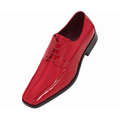ec73ee1646de3 Man Dress Shoes Red: Amazon.com