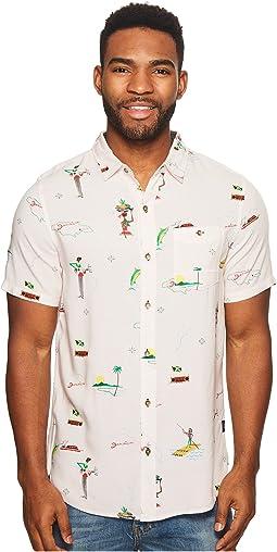 Roark - Tourister By Jamie Thomas Woven Short Sleeve Shirt
