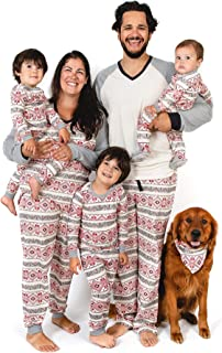Family Jammies, Holiday Matching Pajamas, 100% Organic Cotton PJs
