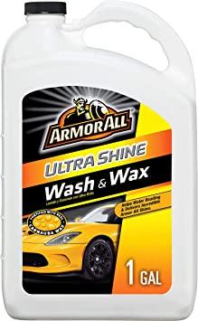 Armor All Ultra Shine Car Wash and Wax, Cleaning for Cars, Truck, Motorcycle, 1 Gallon, 19268: image