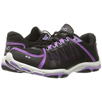 Ryka Influence 2.5 (Black/Sugar Plum/Purple Ice) Women