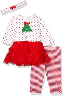 Little Me Baby Girl's Holiday Cotton Dress