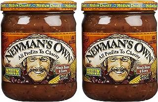 Newman's Own Black Bean & Corn Salsa, 16 oz, 2 pk