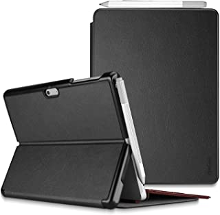 ProCase Microsoft Surface Pro 7 / Pro 6 / Pro 5 /Pro 2017 / Pro 4 / Pro LTE Case, Slim Light Smart Cover Stand Case with Built-in Surface Pen Holder, Compatible with Surface Type Cover -Black