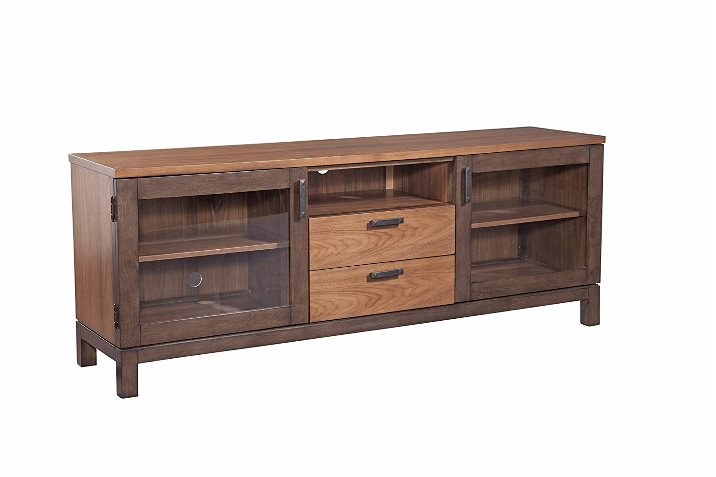 Furniture At Home 236 Food and Wine Estate Collection Console, Dark Chocolate/Walnut