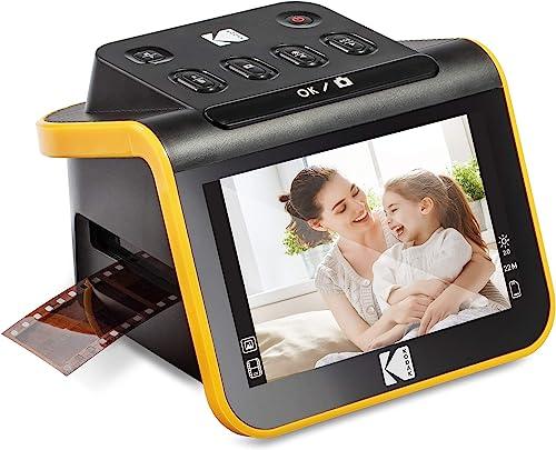 "wholesale KODAK Slide N SCAN Film and Slide Scanner with Large 5"" LCD 2021 Screen, Convert Color & B&W Negatives & Slides 35mm, 126, 110 Film Negatives & Slides to High Resolution online sale 22MP JPEG Digital Photos outlet sale"