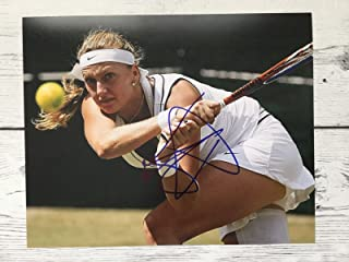 Petra Kvitova Signed Photo - 8x10 Czech Republic e - Autographed Tennis Photos