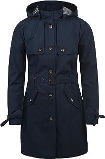 Elegant Desires Tina Trench Coat Manteau Du0027Été Pour Femme À Capuche