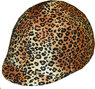 Equestrian Riding Helmet Cover - Cheetah HC