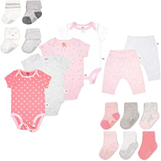 b139cbe8a3b0 Fruit of the Loom Baby Gift Set 16-Piece Breathable Cooling Mesh Bodysuits,  Pants