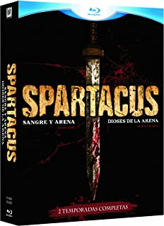 Pack Spartacus Temporada 1 (Sangre Y Arena) Y Precuela (Dioses De La Arena) Blu-Ray [Blu-ray]