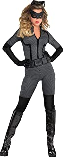 Batman: The Dark Knight Rises Catwoman Costume for Adults, Size Extra-Large, Includes an Eye Mask and More