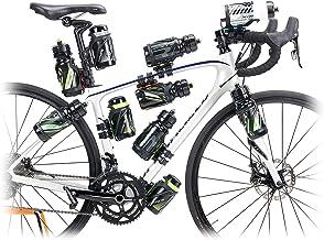 Raceone fietstas en adapter voor fiets, uniseks, volwassenen, zwart, L