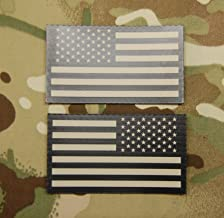 Infrared US Flag Patch Set - Tan & Black