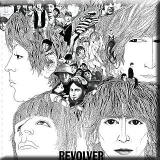 The Beatles Fridge Magnet Revolver Official 76Mm X 76Mm